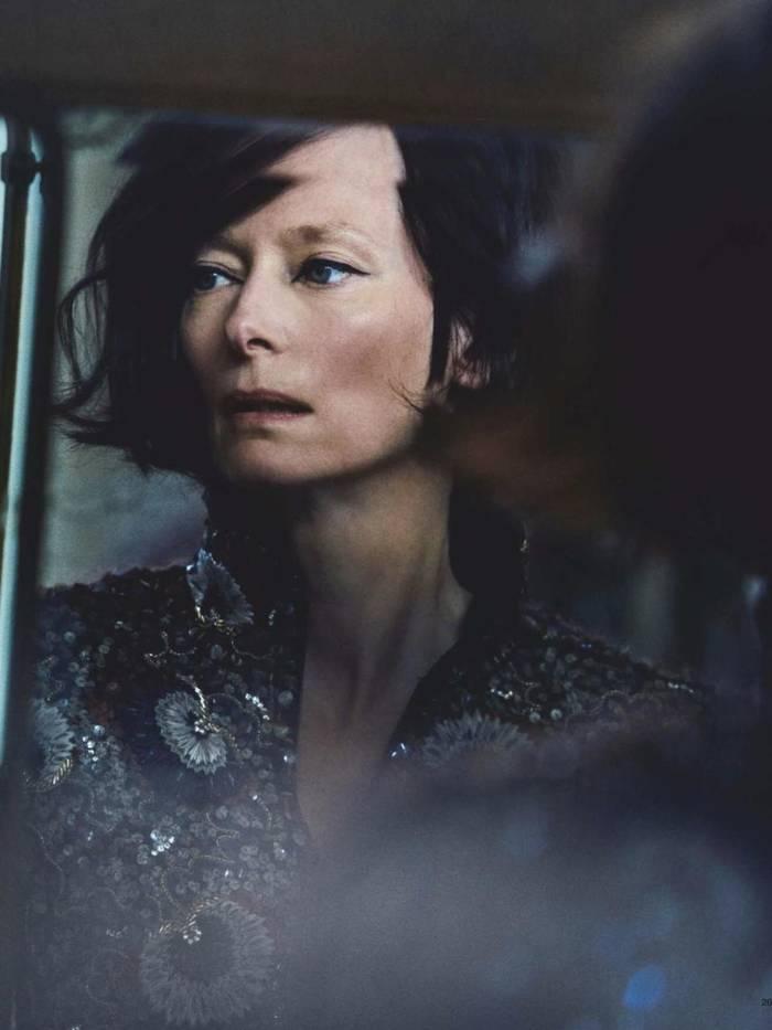 Тильда Суинтон - пример уникальной внешности, в которой наблюдаются мужские черты