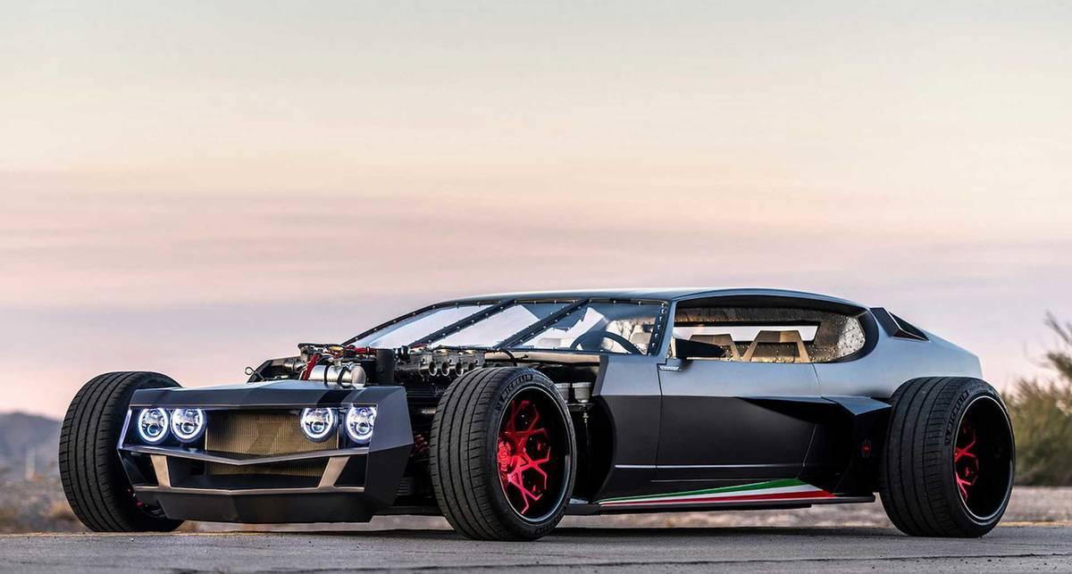 Единственный в мире: раритетный рет-род Lamborghini Espada