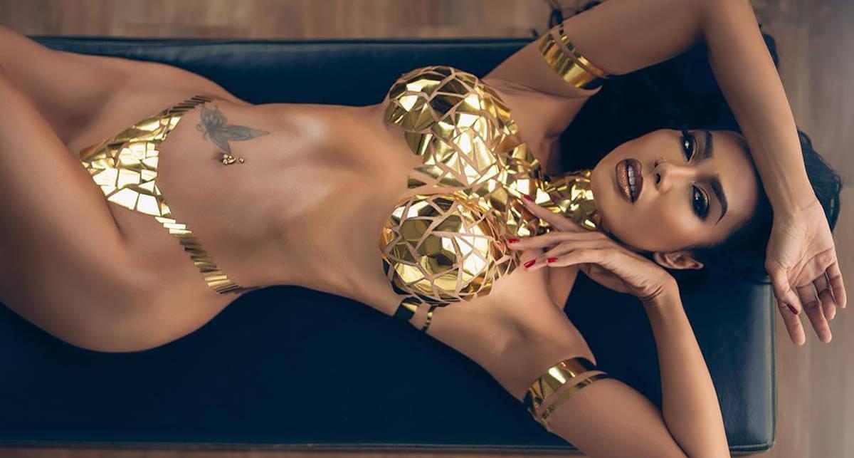 Красотка дня: танцовщица и фитнес-модель Рейчел Лобангко