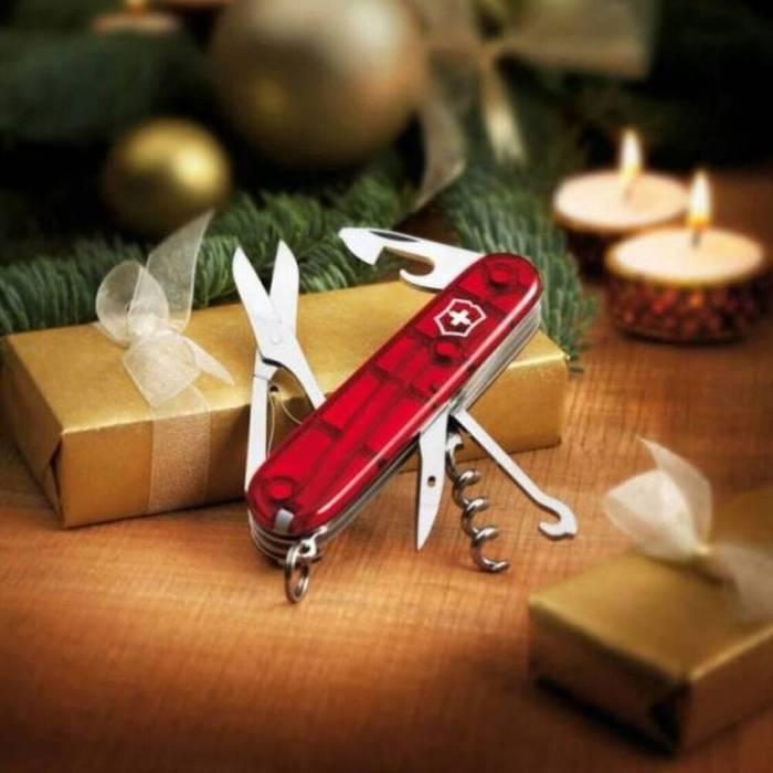 Швейцарский нож - отличный новогодний подарок, кстати