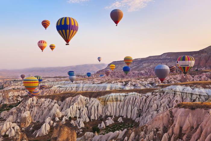 Турецкая Каппадокия. Сказочная красота