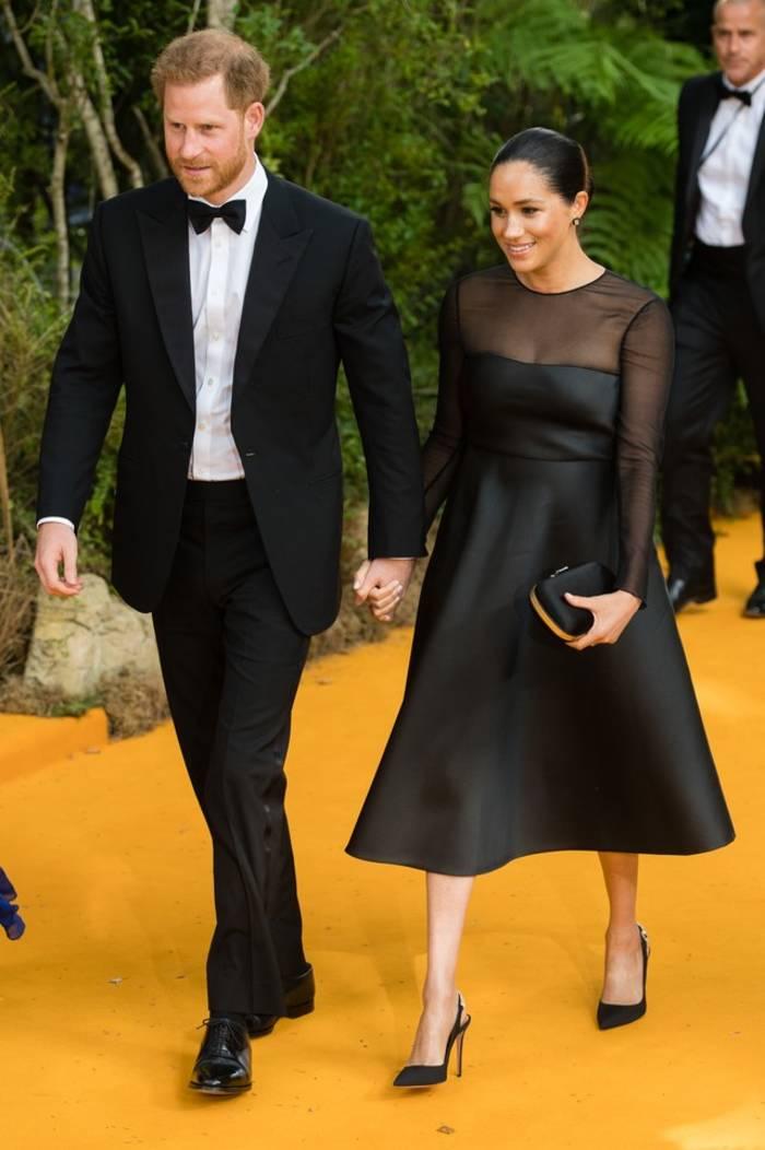 Принц Гарри и герцогиня Сассекская Меган