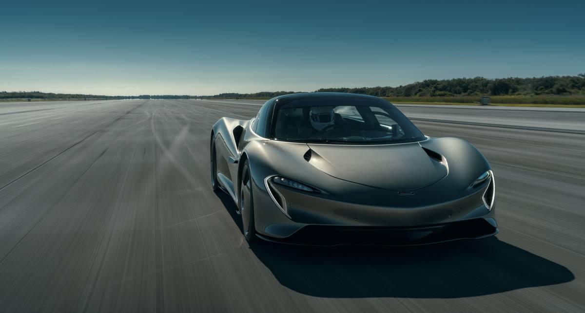 McLaren Speedtail: супергибрид, разгоняющийся до 403 км/ч