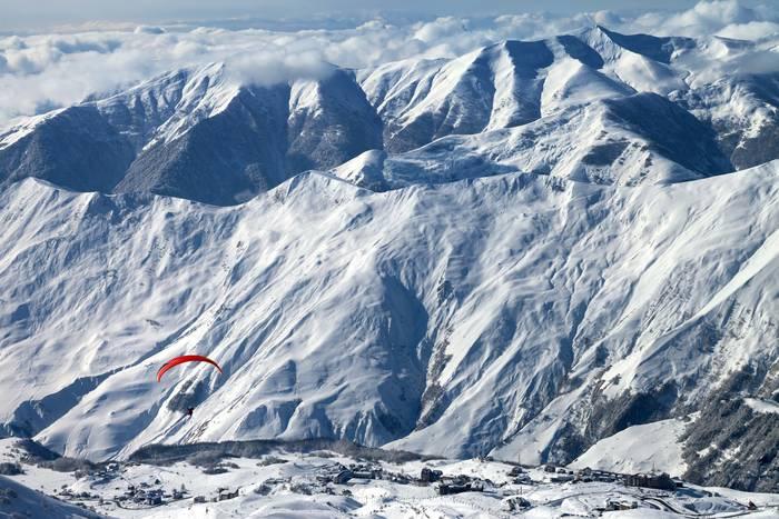 Гудаури = 18 километров лыжных трасс для абсолютно разных уровней подготовки