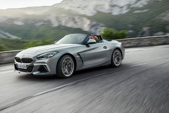BMW Z4. В 2019 краш-тесты проходило третье поколение