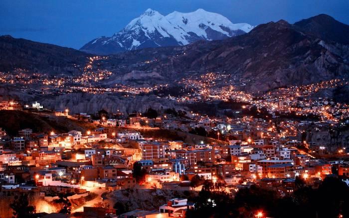 В боливийском Ла-Пасе действует самая большая канатная дорога в мире