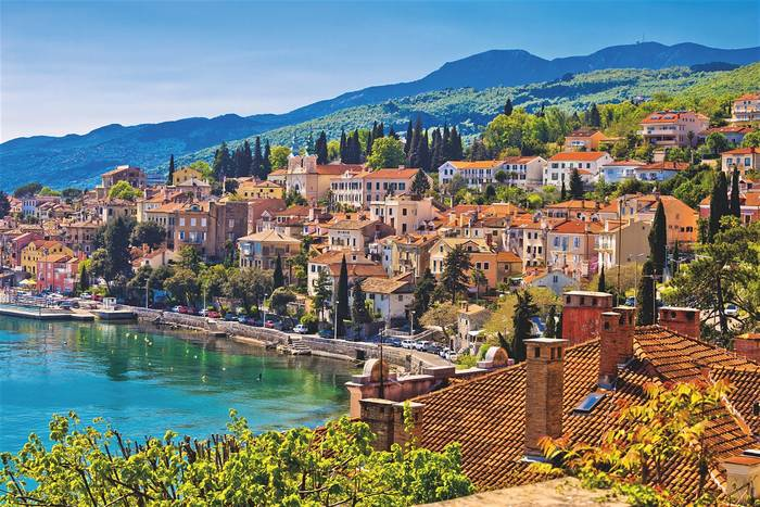 Залив Кварнер- олицетворение средиземноморского городка и неповторимой природы