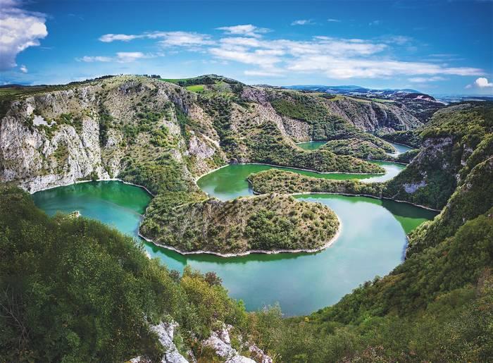 В Сербии достаточно покинуть столицу - и первозданная природа рядом