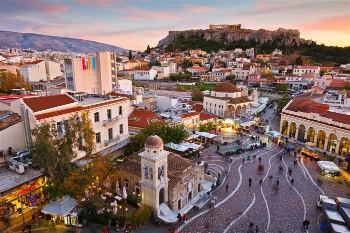 В Афинах есть на что посмотреть и кроме Акрополя