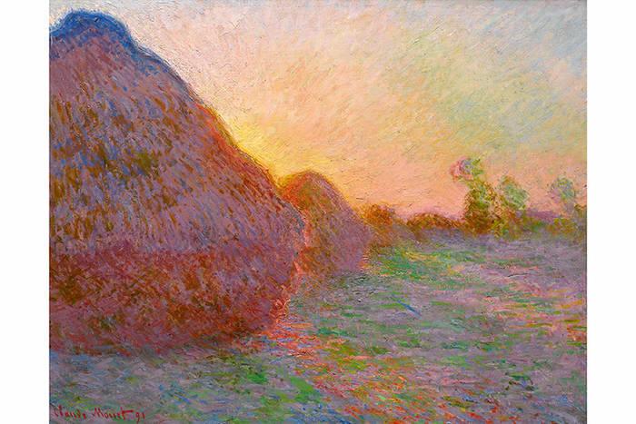 Клод Моне, картина из серии «Стога сена», $110,7 млн