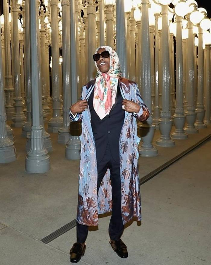 A$AP Rocky в платке даже клип записал