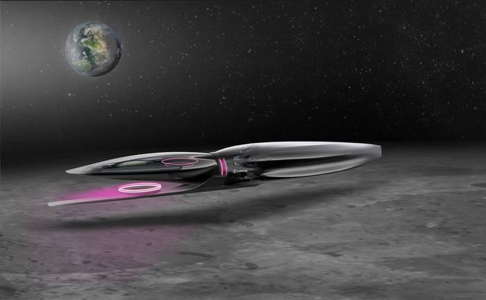 Lexus Cosmos, автобус для покорения Луны