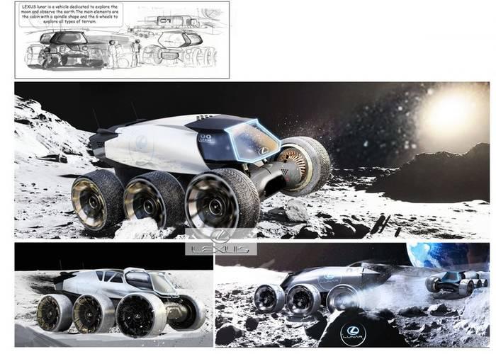Lexus Lunar - авто для колонизации Луны