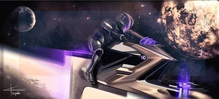 Zero Gravity, автомобиль-мотоцикл