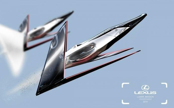 Lexus Lunar Mission - самолет для лунных туров
