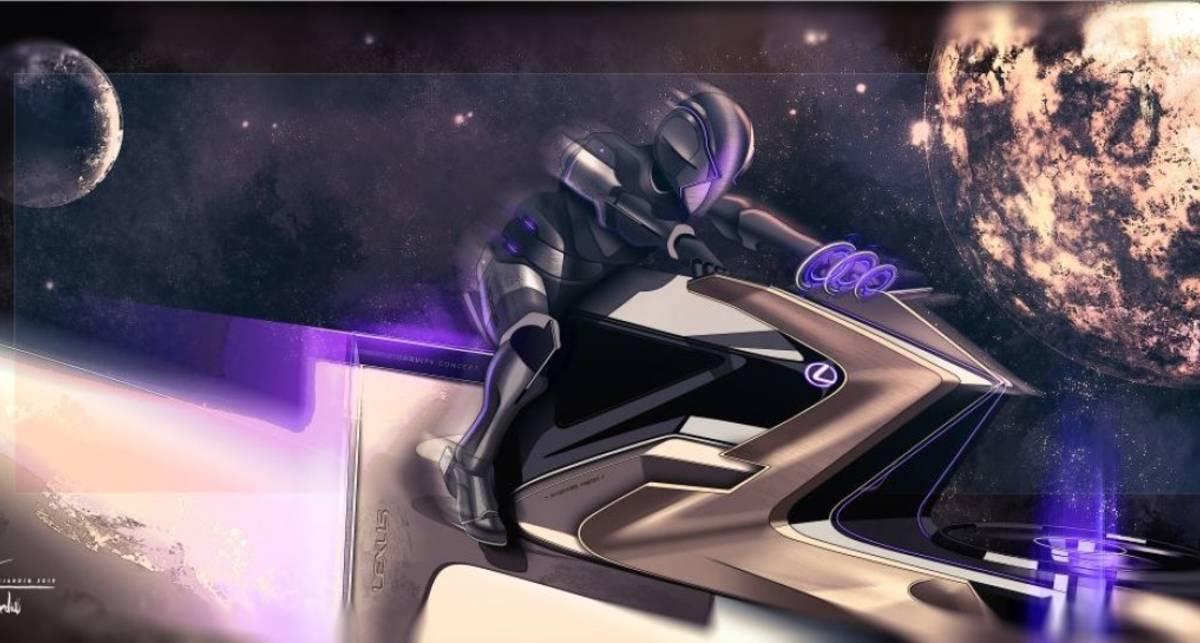 С ветерком: Lexus показали транспорт для перемещения по Луне