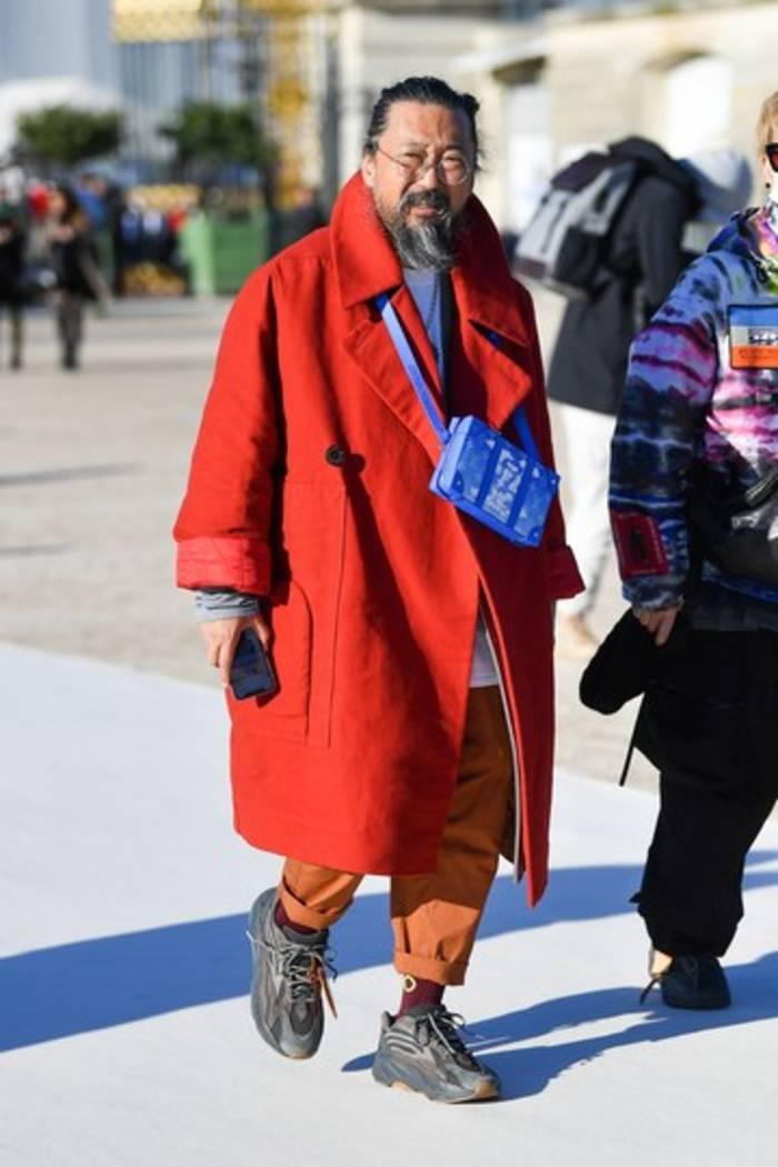 Такаcи Муракамина Неделе моды в Париже