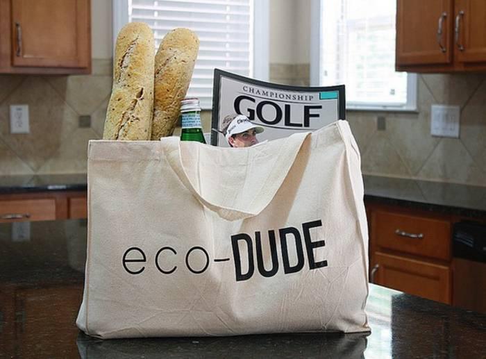 Заботься об экологии: носи стильную экосумку вместо пакетов