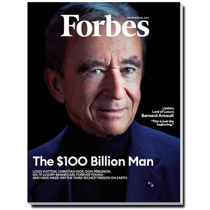 Бернар Арно на обложке Forbes