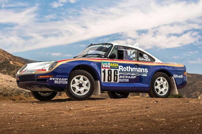 Porsche 959 Paris-Dakar (1985) - 5,34 миллиона евро