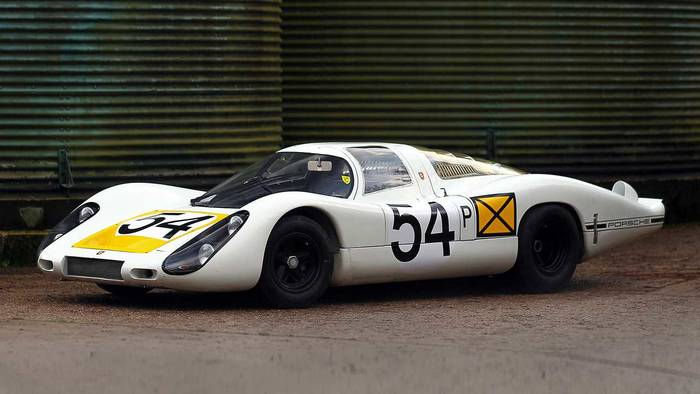 Porsche 907 Longtail (1968) - 3,26 миллиона евро