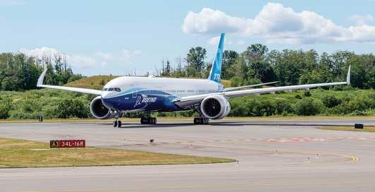 Самый новый и самый дорогой: Boing 777X впервые поднялся в воздух