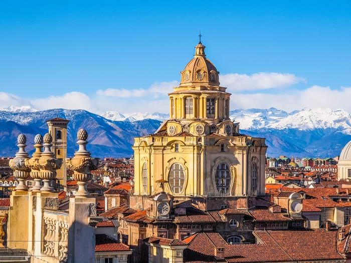 Турин — город с невероятной концентрацией соборов