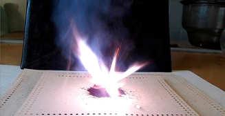Feuer frei: что будет, если смешать марганцовку с глицерином