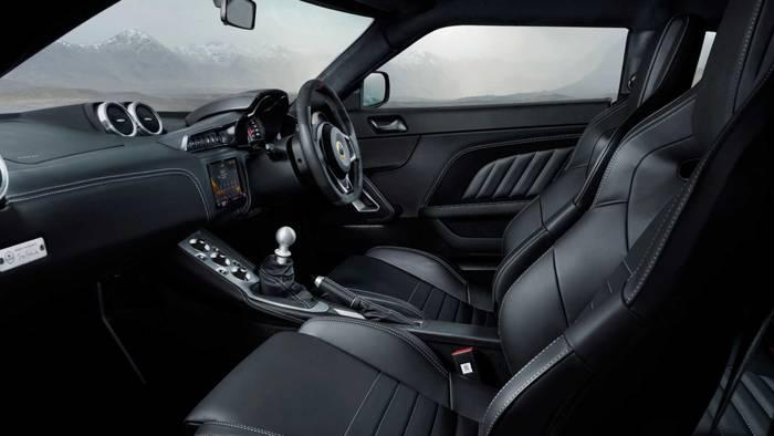Салон  Lotus Evora GT410