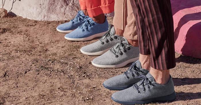 Allbirds производит модные шерстяные кроссовки