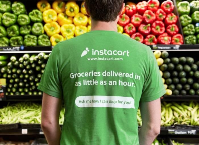 Приложение по доставке овощей Instacart