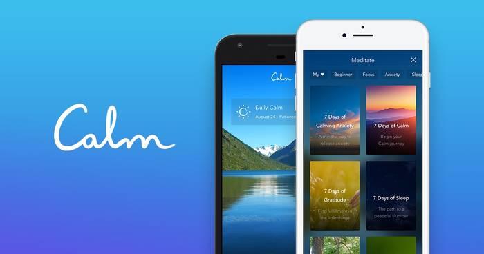 Calm - приложение для медитации