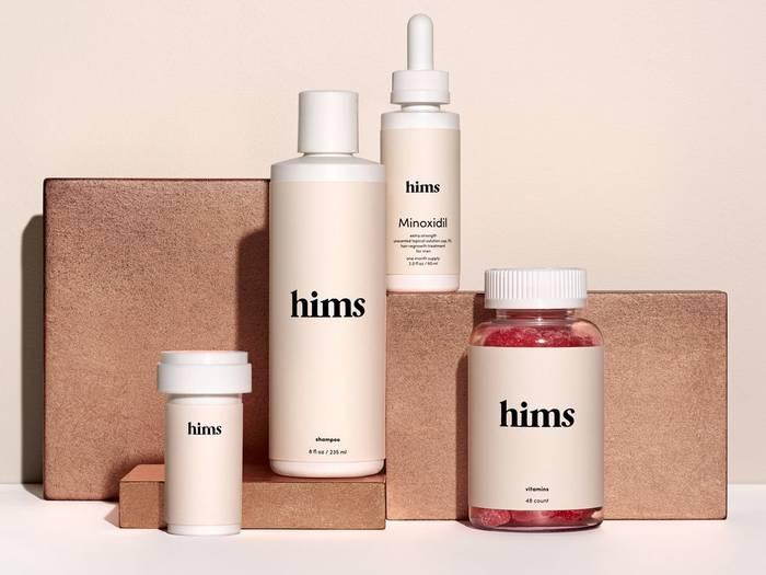 Hims - платформа по продаже товаров личной гигиены для мужчин