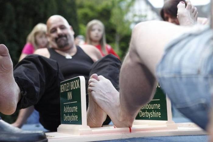 Большие пальцы ног тоже могут быть боевыми единицами
