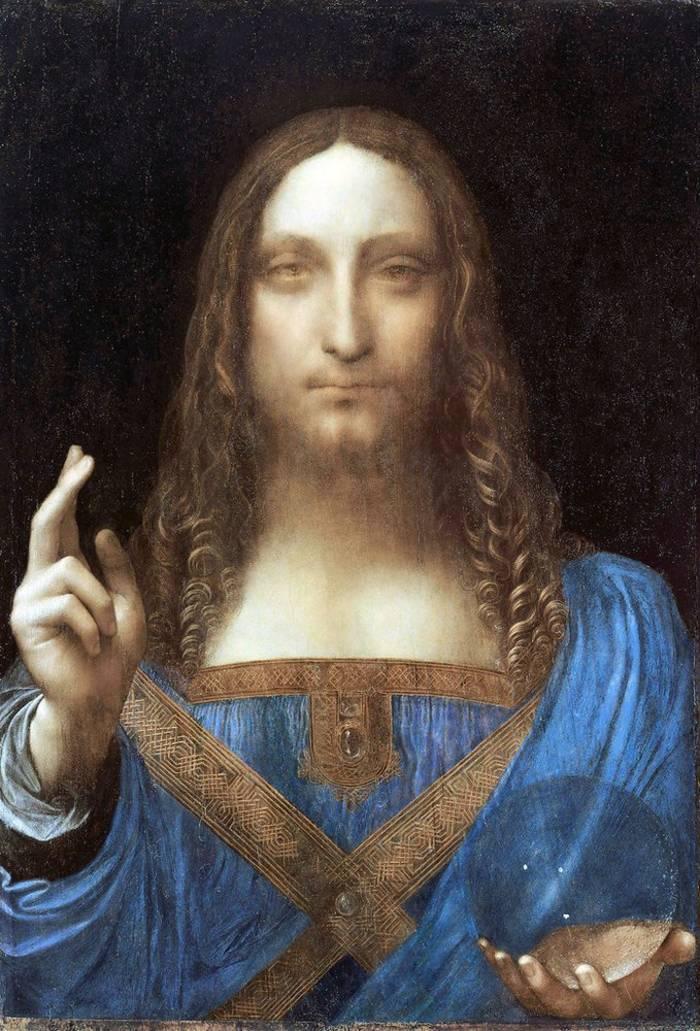 """Спаситель мира"", Леонардо да Винчи"