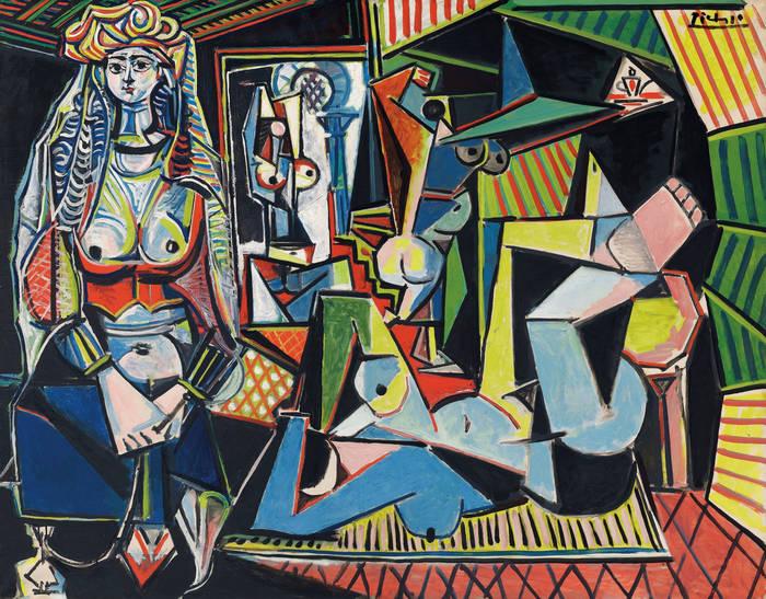 """""""Алжирские женщины"""" (""""Версия О""""), Пабло Пикассо"""