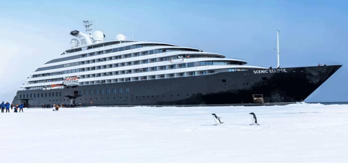 """Круиз в Антарктику к пингвинам на роскошной яхте - один из подарков номинантам на премию """"Оскар"""""""