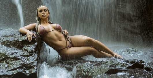 Красотка дня: «мясистая» фитнес-модель Венди Кросби