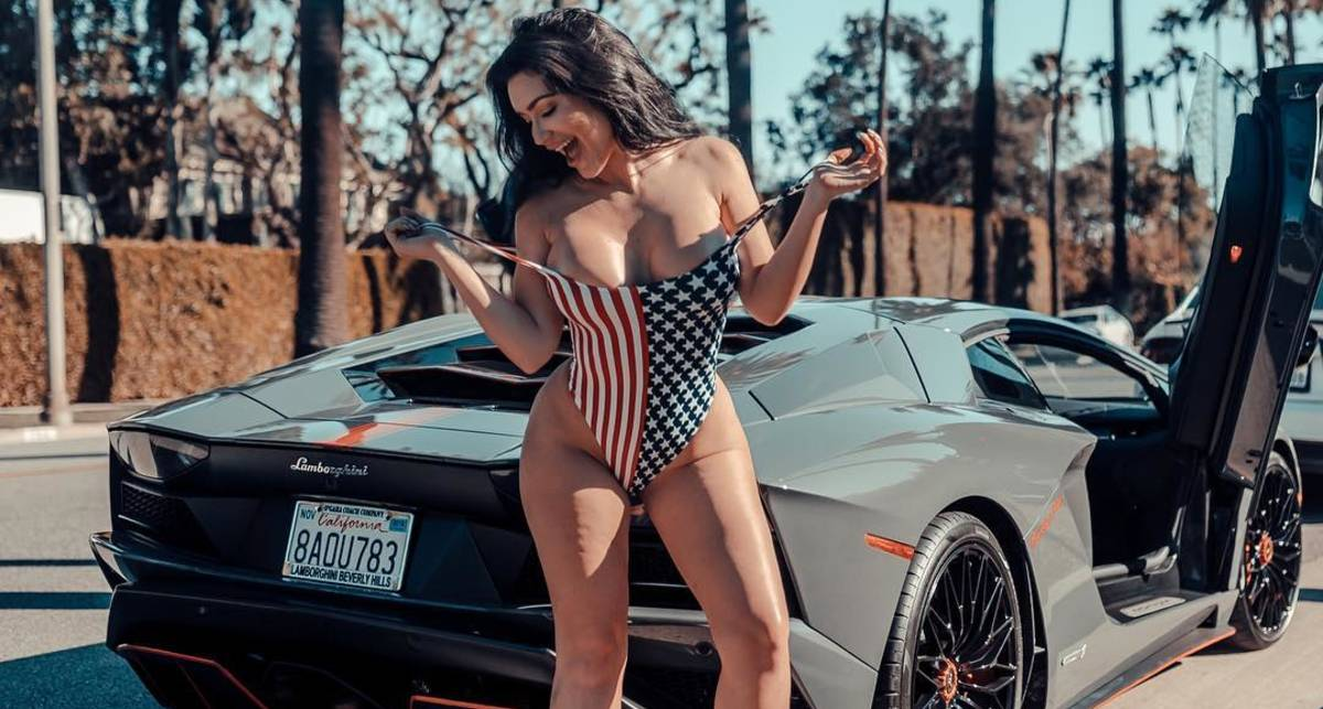 Красотка дня: бесстыжая Playboy Playmate и участница шоу The Girls Next Door СиДжей Спаркс