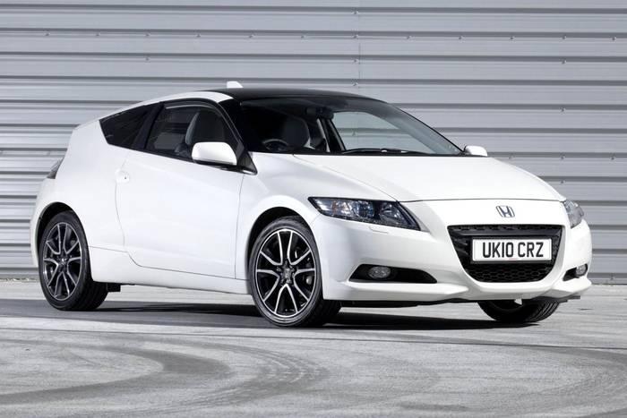 Honda CR-Z - 2010. Должна была заменить Honda CR-X