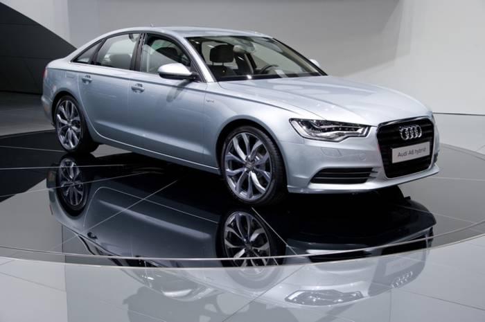 Audi A6 hybrid - 2012. Первый гибрид компании Audi