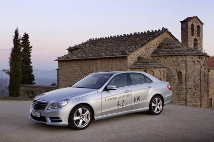 Mercedes-Benz E 300 BlueTEC Hybrid - 2012. Первый гибрид легендарных Mercedes'ов