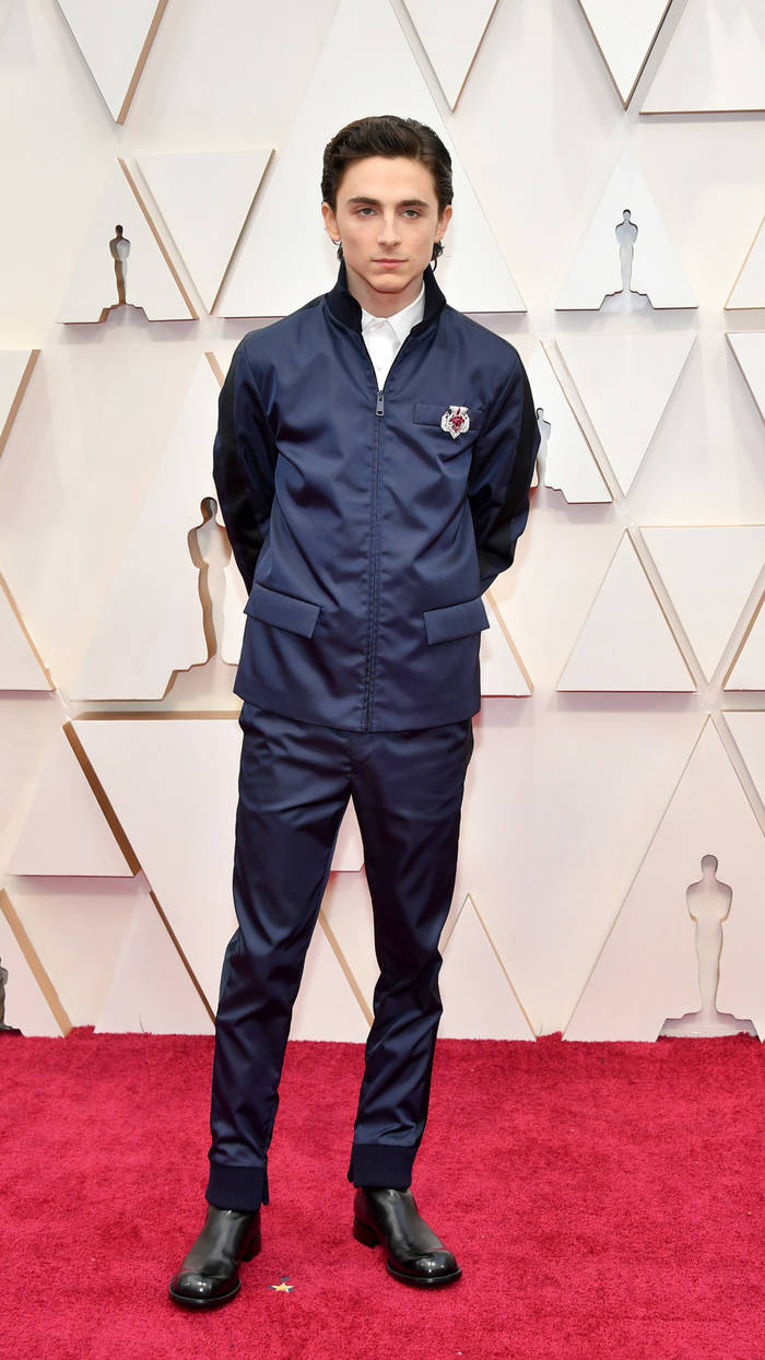 Тимоти Шаламе еще раз продемонстрировал: он - один из самых стильных актеров