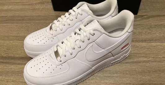 Безупречный белый: классика и уличный стиль в кроссовках Supreme x Nike Air Force 1