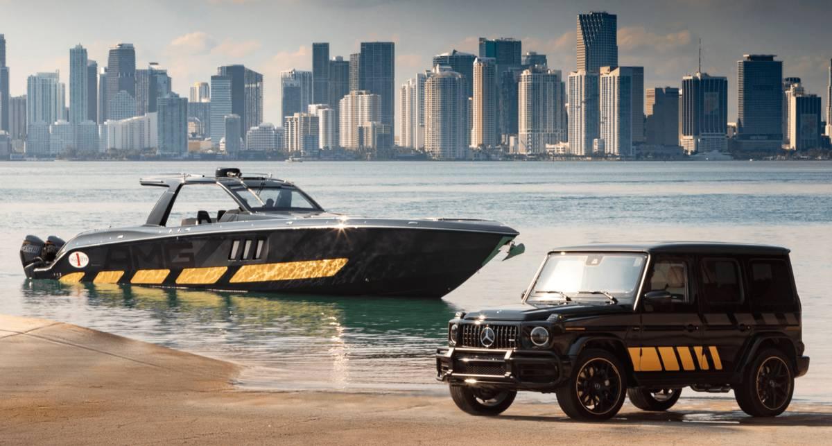 """Гелик"" на воде: суперлодка 59' Tirranna AMG Edition"