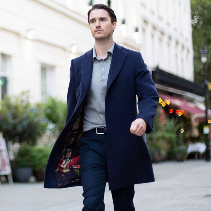 В классическом пальто ты всегда будешь смотреться выигрышно