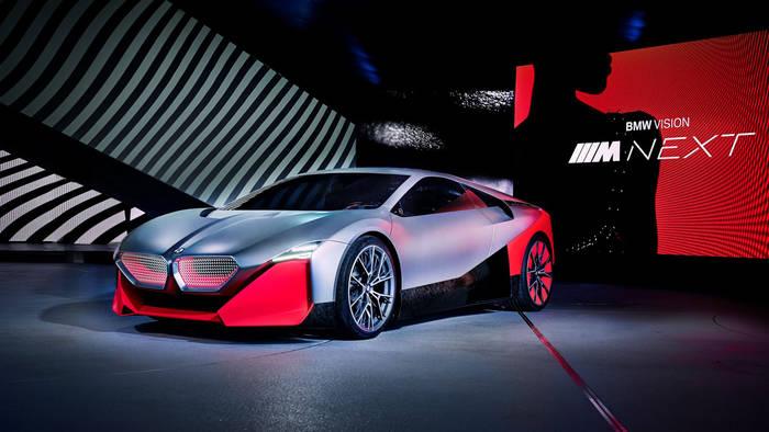 На выставке представили BMW Vision M Next Concept и еще несколько крутых серийников