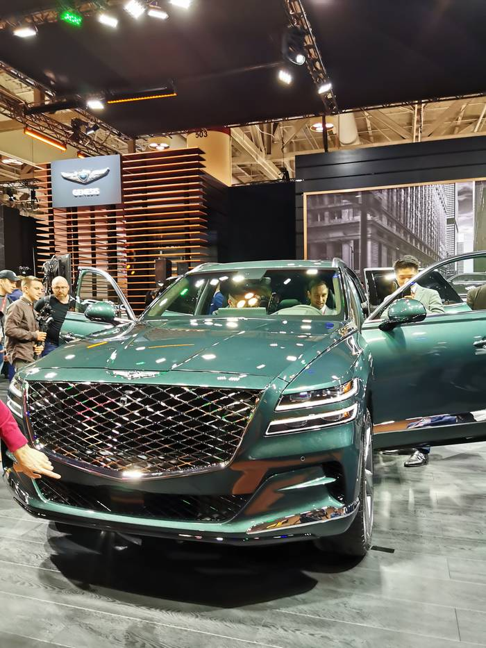 Дебют Genesis на Канадском международном автосалоне 2020 получился удачным