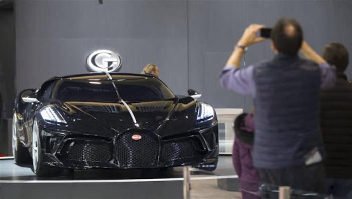 BugattiLa Voiture Noire. Приковывает взгляды