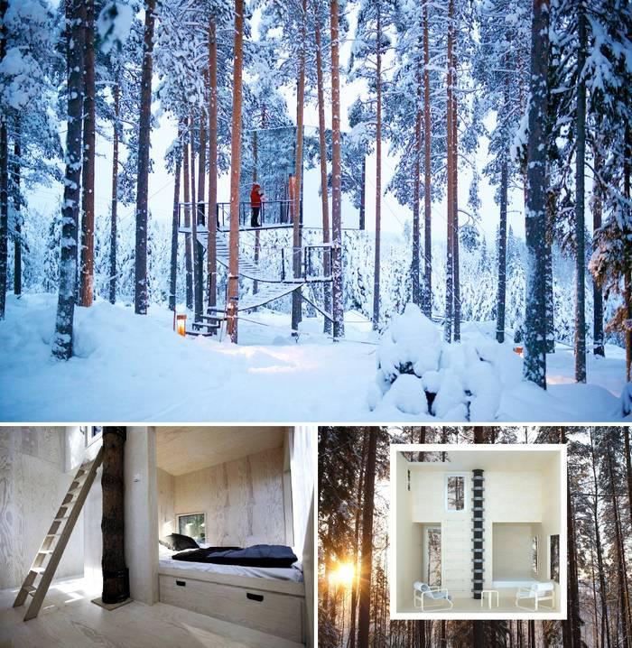 Зеркальный дом в Швеции